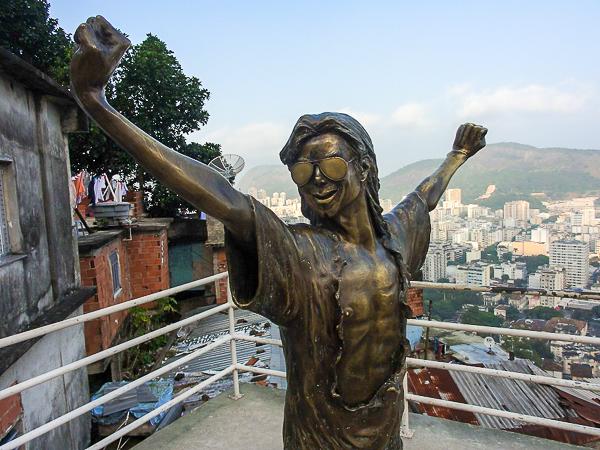 Michael Jackson Santa Marta