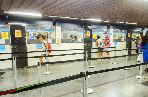 Rio Metro Ticket Booth