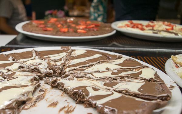 Sweet Pizza Chocolate