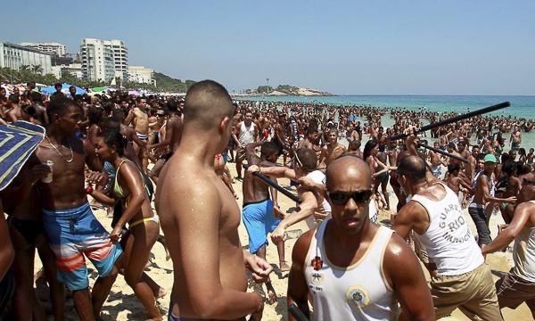 Ipanema Beach Violence