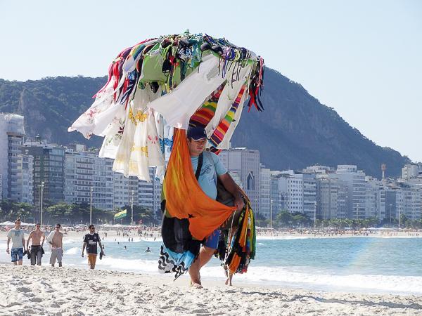 Copacabana garment seller
