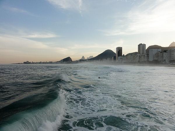 Copacabana from Leme